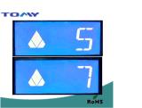 Écran LCD d'écran à cristaux liquides pour l'ascenseur