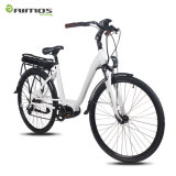 36V 17ah Larga Distancia 100km Electric Lady Bicycle