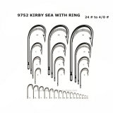 Personnalisé Pr-9752 Kirby Sea with Ring Fishing Hook
