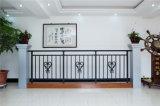 Balcón de acero galvanizado decorativo de alta calidad 14 que cercan con barandilla de la aleación de Haohan Alluminum