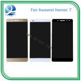 Huawei 명예 7 스크린 전시를 위한 100%년 작업 접촉 LCD