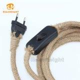 Kabel van de Kabel van de Hennep van Ce de VDE Verklaarde Uitstekende met de Vastgestelde Lamp van het Koord van de Schakelaar en van de Stop