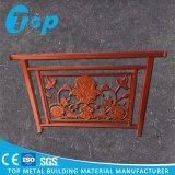 El panel de aluminio tallado perforado modificado para requisitos particulares para la puerta del jardín