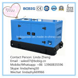 generadores a prueba de mal tiempo del pabellón silencioso de 80kw 100kVA con el motor Wp4.1d100e200 de Weichai