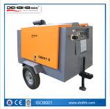 휴대용 디젤 엔진 몬 나사 공기 압축기