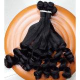 Pelo humano del feedback de la venta al por mayor del mercado de la Virgen barata perfecta de Funmi (QB-MVRH-LW)