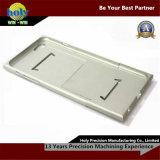 el aluminio del CNC del shell del iPhone parte piezas anodizadas plata del CNC