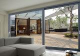 ألومنيوم فناء زجاجيّة [سليد دوور] مع شاشة