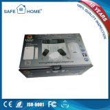 Sistema de alarme sem fio da G/M do auto seletor do teclado do toque do LCD do profissional para o agregado familiar