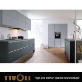 贅沢な方法ホーム家具の台所デザイン自然な木製のベニヤの台所家具(AP046)