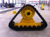 Hot-on Rubber Track Crawler Usado para Trator