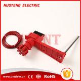 Universalventil-Aussperrung mit Kabel und dem Blocken-Arm
