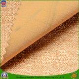 Сплетенная светомаскировка Fr ткани полиэфира ткани водоустойчивая Flocking ткань для занавеса и софы