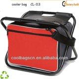 (KL230)赤いFoldable昼食のクーラー袋の屋外のピクニック袋