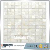 Modelo de mosaico del mármol de la pared de la cocina y del cuarto de baño