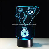 かわいい3D Kongfuのパンダのセンサー制御LED夜ライト