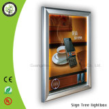 blocco per grafici dell'indicatore luminoso dell'alluminio di 4cm della casella chiara sottile di pubblicità dell'interno del LED