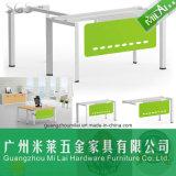 Mobília moderna elegante da tabela do escritório executivo de frame de aço com pintura