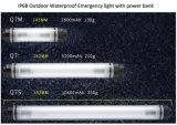 IP68 waterproof a lâmpada de acampamento com banco da potência