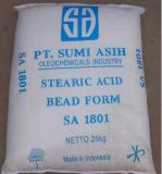 Ácido esteárico presionado triple del CAS 57-11-4 esteárico ácido