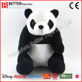 Brinquedo macio da panda bonito do luxuoso do animal enchido