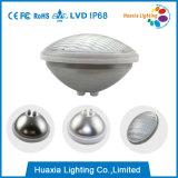 Luz subacuática del LED. Luz de la fuente del LED, luz del punto de agua del LED