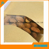 Мешки бумаги Kraft/мешок бумаги Kraft раговорного жанра/мешки бумаги Kraft раговорного жанра с застежкой -молнией