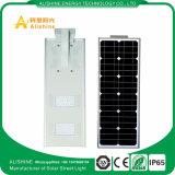 セリウムEMC RoHSの公認20W再充電可能な太陽街灯