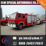 carro de la lucha contra el fuego del uso de la espuma del tanque de agua 5m3 para la venta