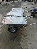 Galvanização Pequena mão Garden Truck Cart Single ou Two Wheels