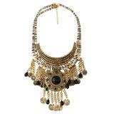 方法型の硬貨の宝石用原石の樹脂のふさの吊り下げ式のチョークバルブのネックレスの宝石類
