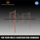 Échafaudage soudé tubulaire multifonctionnel de faible puissance de bâti