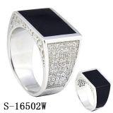 Venda por atacado de prata da fábrica do anel da jóia da chegada 925 novos