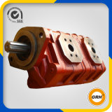 La machine partie la double pompe à engrenages hydraulique pour la piste de bouteur (CBZ2080/2032)