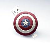 USB impermeable Pendrive del palillo de la memoria del USB del teléfono del metal