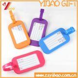 Eco-Friendly Silicone/PVC 주문 로고 수화물 꼬리표