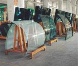 Transparente/geou o vidro temperado curvado (5mm 6mm 8mm 12mm 15mm)