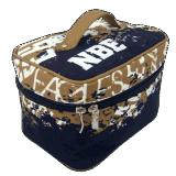 فانكي مستحضر تجميل حقيبة بما أنّ الصين رخيصة بالجملة بنية حقيبة