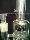 Narguilé en verre du tabac DEL Shisha d'usine d'A034 Chine pour l'eau en verre
