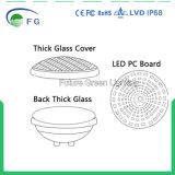 Luz subacuática embutida 2835SMD cambiante de la charca de la fuente de la lámpara 252PCS del bulbo de la luz 18W PAR56 LED de la piscina del color de AC12V LED Dimmable RGB con el regulador alejado
