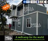 Economische bouwt Snel van Wellcamp het Afneembare Huis van de Container