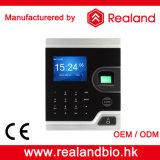 Leitor de cartão do comparecimento do controle de acesso e do tempo de Realand