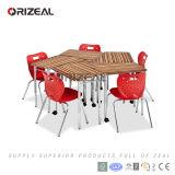 협조적인 배우는 교실 학교 가구를 위한 대중적인 신식 현대 교실 테이블