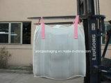 Мешок дефлектора FIBC большой с розовой перекрестной угловойой петлей
