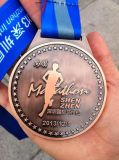 Medalha de maratona do desafio de lembrancinha 3D personalizada (GZHY-MEDAL-008)