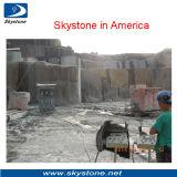 Machine de découpage en pierre pour l'exploitation de quartz de granit