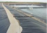 Plastic HDPE Geomembrane voor de Voering van de Dam en de Plaats van de Stortplaats