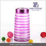 Lidded hoher Glasflasche &Food Behälter (GB2101LX-1)