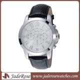 Uhr-Edelstahl-intelligente Quarz-Armbanduhr der populären Männer