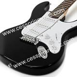 Constructeur chaud de fournisseur de /Guitar de guitare de Lp de guitare de /Electric de vente/noir musique de Cessprin (ST601)